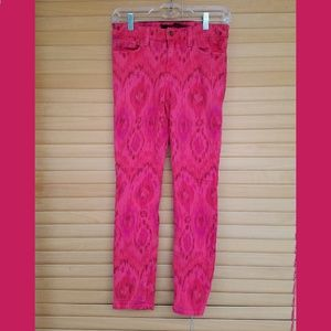 Joe's Jeans The Highwater Ikat print ankle jeans